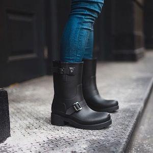 Hunter Moto Rain Boots